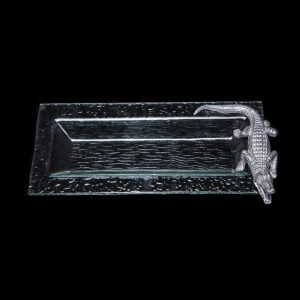 Alligator_Glass_Oblong_Tray_BLK