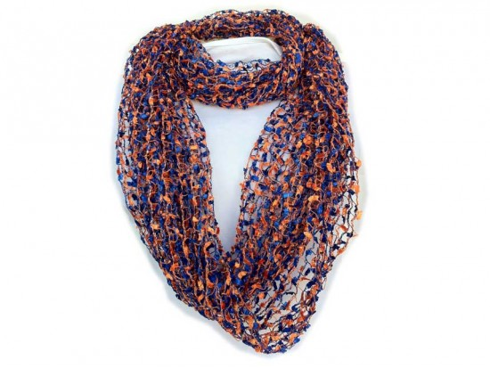 Family Jewels and Purse Strings Blue & Orange ...