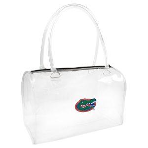clear bowler bag
